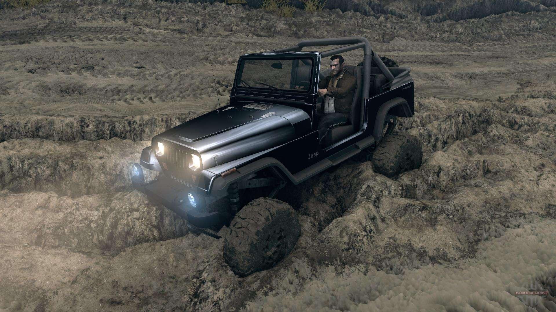 jeep wrangler yj sahara f r spin tires. Black Bedroom Furniture Sets. Home Design Ideas