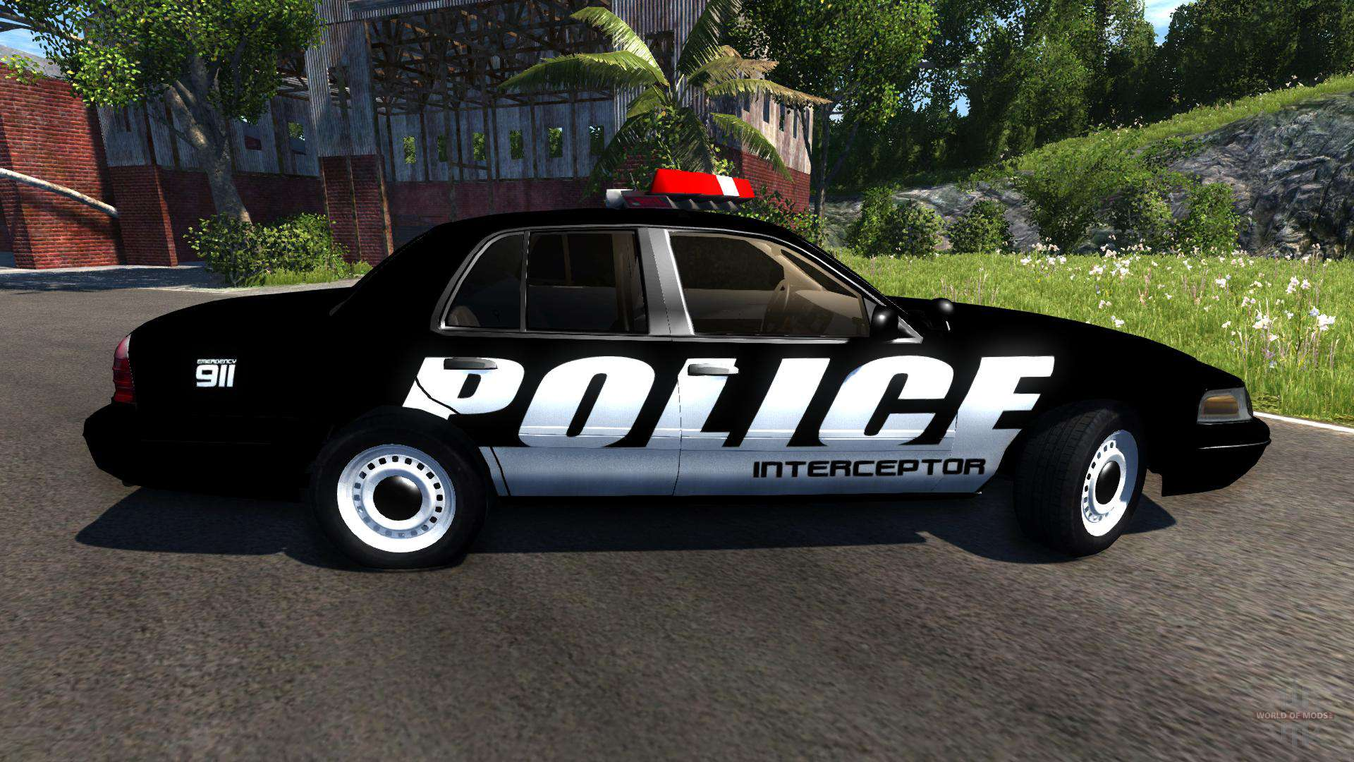 Ford Crown Victoria Police Interceptor Pour Beamng Drive