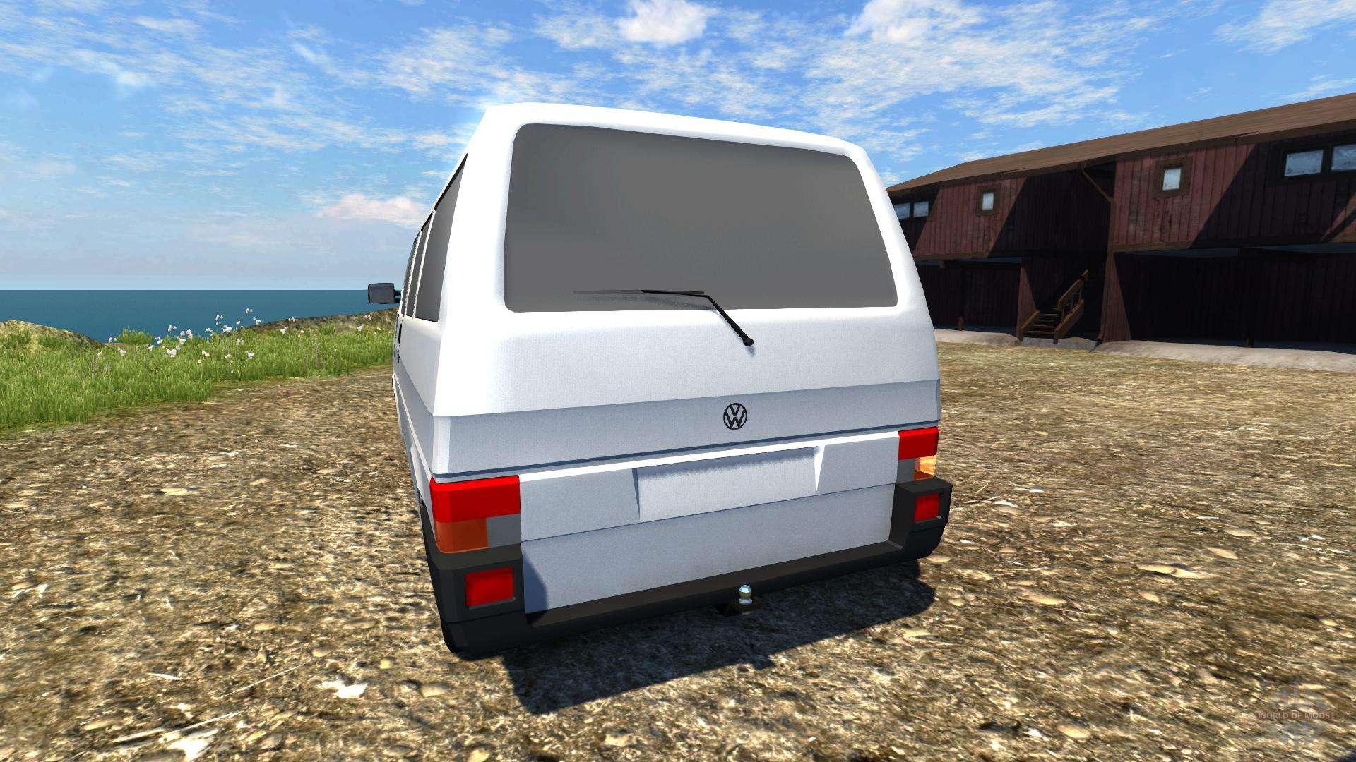 volkswagen transporter t4 f r beamng drive. Black Bedroom Furniture Sets. Home Design Ideas
