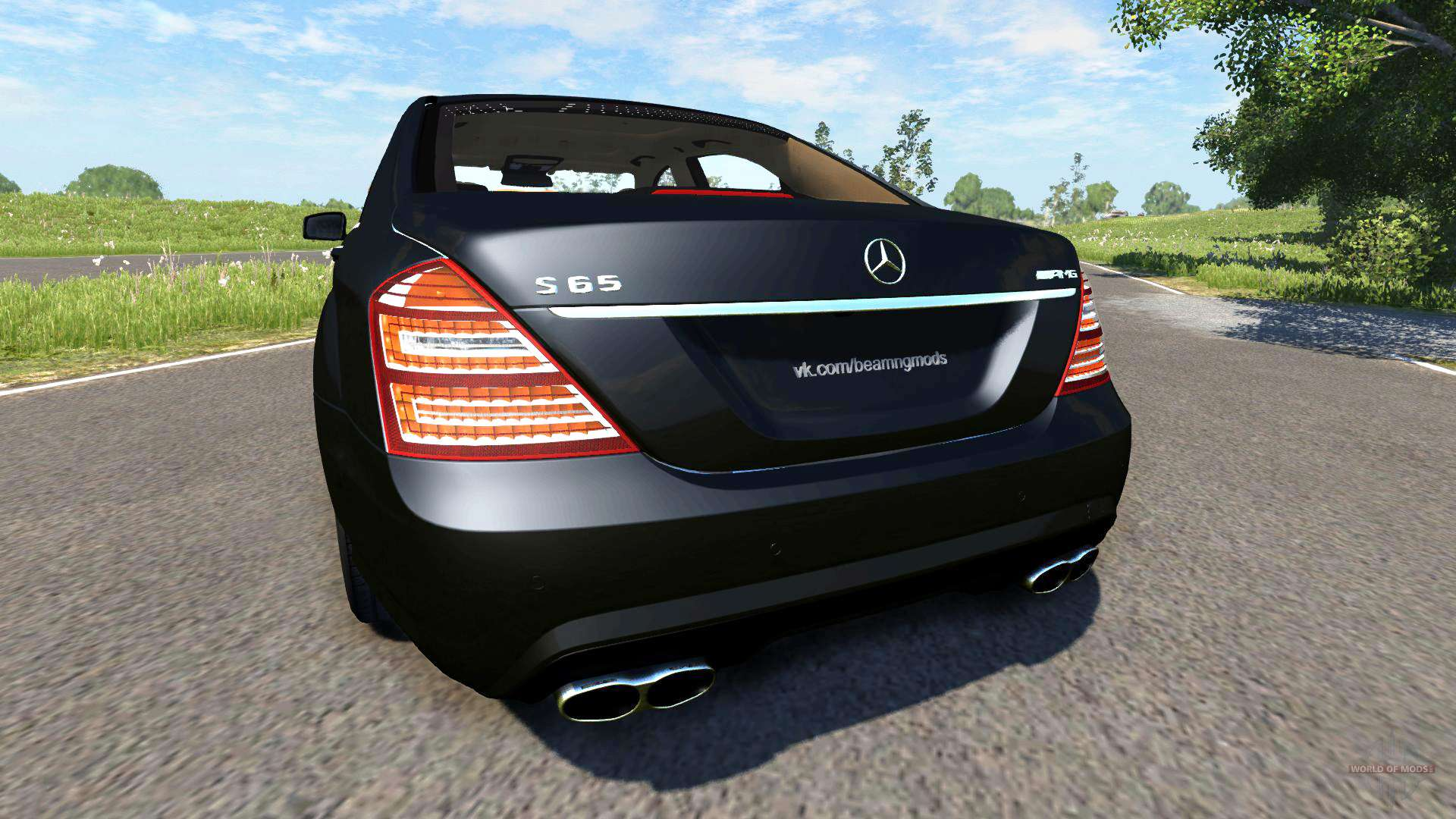 Mercedes benz s65 amg 2012 pour beamng drive for Mercedes benz amg s65