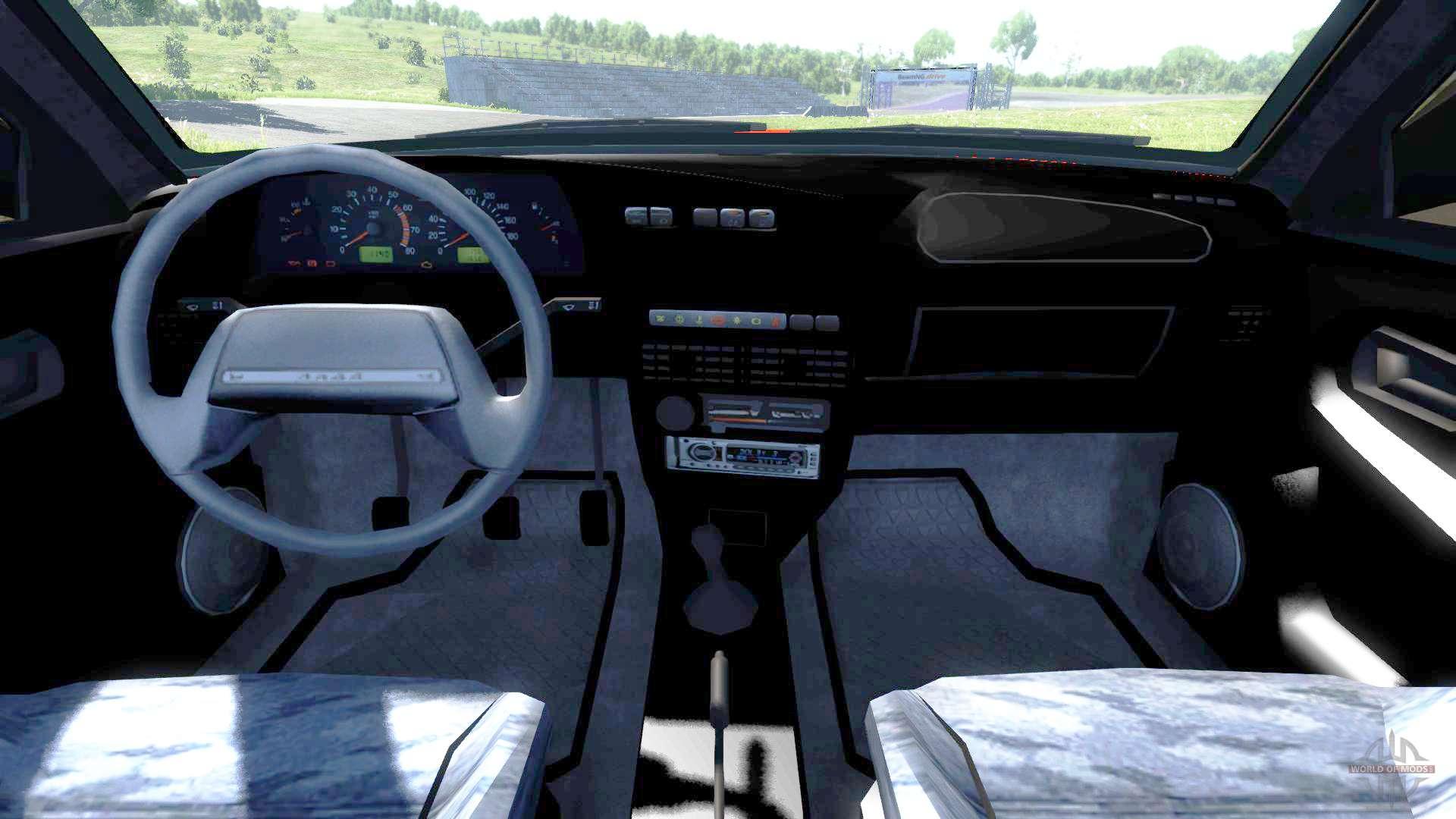 Vaz 2115 Lada Samara Pour Beamng Drive