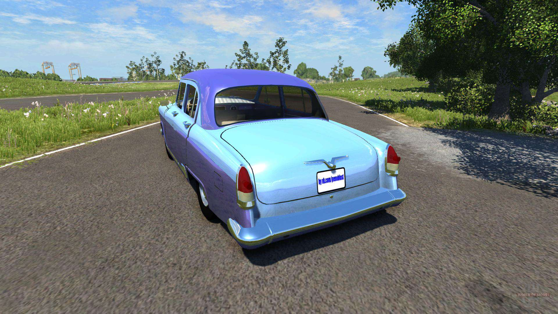 gaz 21 volga eaux de ruissellement pour beamng drive. Black Bedroom Furniture Sets. Home Design Ideas