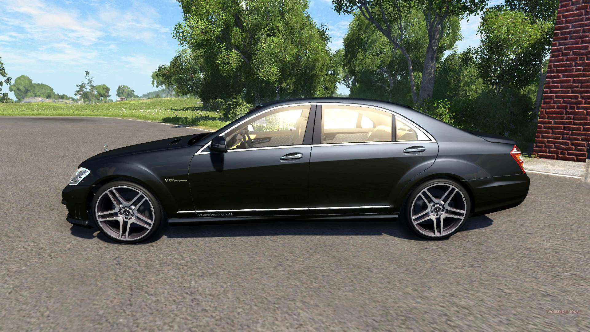 Mercedes benz s65 amg 2012 f r beamng drive for Mercedes benz of barrington