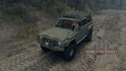 Nissan Patrol Y60 v2.0 pour Spin Tires
