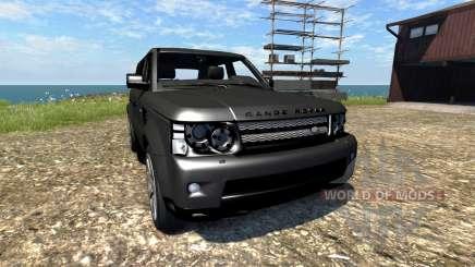Range Rover Sport für BeamNG Drive