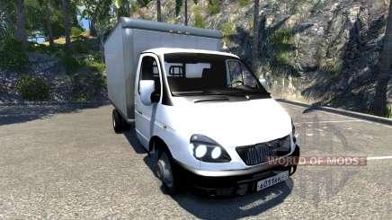 GAZ-3302 Gazel für BeamNG Drive