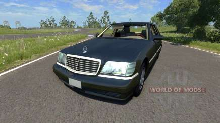 Mercedes-Benz S600 pour BeamNG Drive