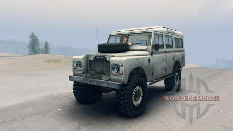 Land Rover Defender Cream pour Spin Tires