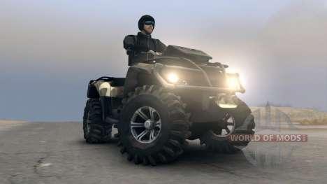 Les VTT Outlander v1 pour Spin Tires