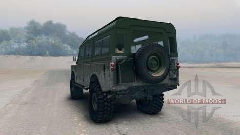 Land Rover Defender Olive für Spin Tires
