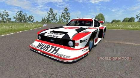 Ford Capri Zakspeed Turbo Group 5 pour BeamNG Drive