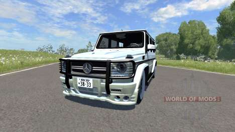 Mercedes-Benz G65 pour BeamNG Drive