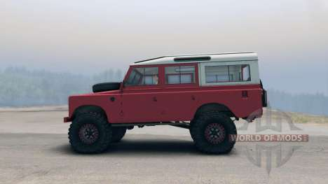 Land Rover Defender Red pour Spin Tires