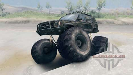 Jeep Grand Cherokee Monster pour Spin Tires