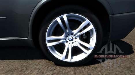 BMW X5M Grey pour BeamNG Drive