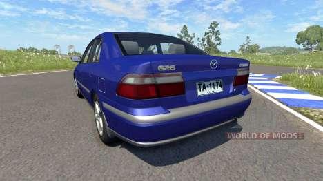 Mazda 626 für BeamNG Drive