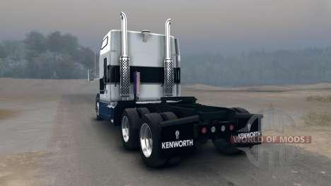 Kenworth T600 für Spin Tires