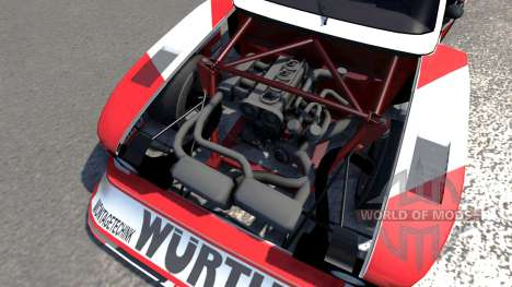 Ford Capri Zakspeed Turbo Group 5 pour BeamNG Drive