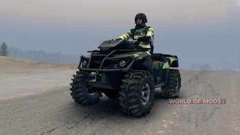 ATV Outlander v3 für Spin Tires