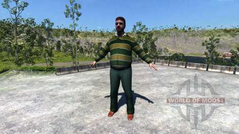Mannequin pour BeamNG Drive