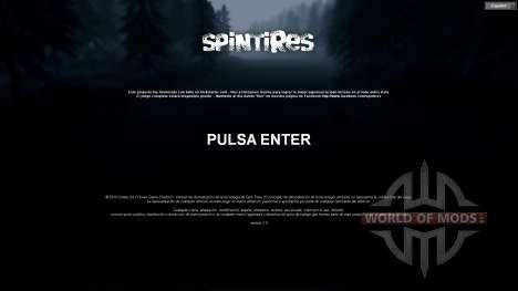 Spanisch übersetzung für Spin Tires