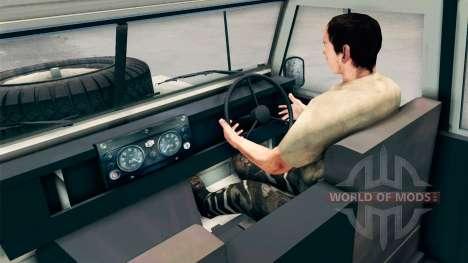 Land Rover Defender Cream für Spin Tires