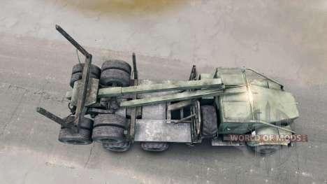 KRAZ-L für Spin Tires