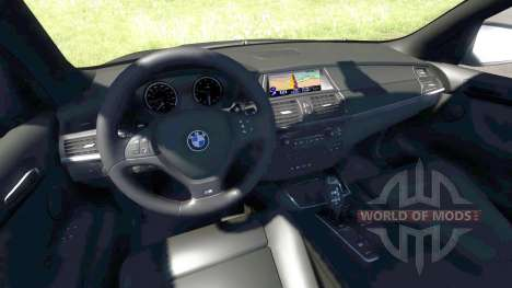 BMW X5M Grey pour BeamNG Drive
