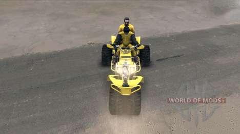 Dreirad v2 für Spin Tires
