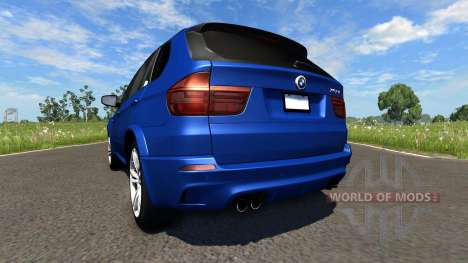 BMW X5M Blue pour BeamNG Drive
