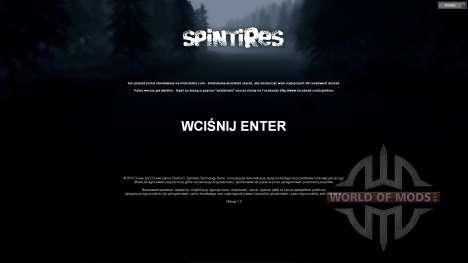 Traduction en polonais pour Spin Tires