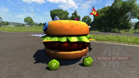 DSC Patty Wagon pour BeamNG Drive