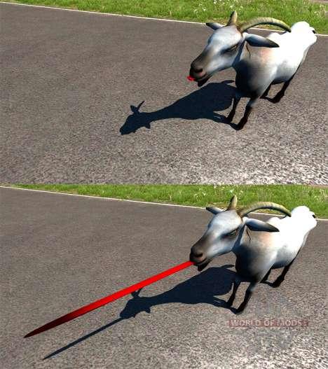 Ziege für BeamNG Drive