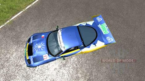 Chevrolet Corvette C5-R Valeo LeMans für BeamNG Drive