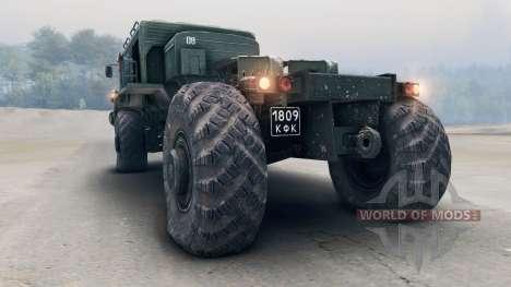 MAZ-535 4x4 für Spin Tires
