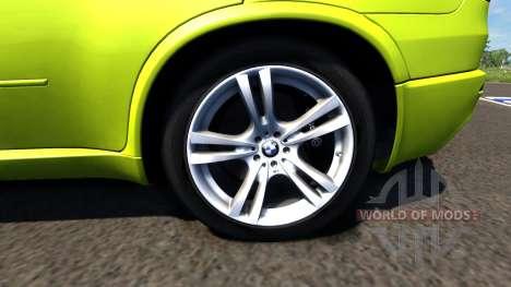 BMW X5M Yellow pour BeamNG Drive