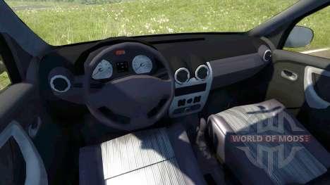 Dacia Logan 2008 pour BeamNG Drive