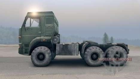 KamAZ-65116 v2.0 pour Spin Tires