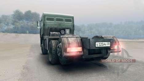 KamAZ-65116 pour Spin Tires
