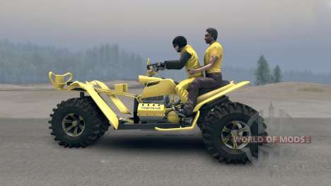 Tricycle v2 pour Spin Tires
