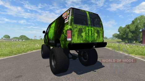 Gavril H-Series Monster pour BeamNG Drive