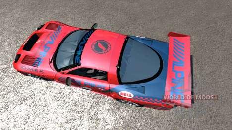 Chevrolet Corvette C5-R Alpine für BeamNG Drive