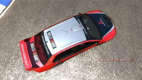 Mitsubishi Lancer Evolution IX 2006 für BeamNG Drive