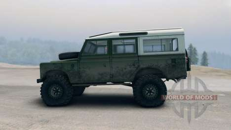 Land Rover Defender Green für Spin Tires