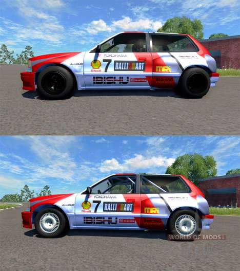 Ibishu Covet MRi RE pour BeamNG Drive
