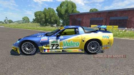 Chevrolet Corvette C5-R Valeo für BeamNG Drive