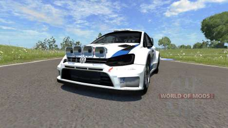 Volkswagen Polo R WRC pour BeamNG Drive
