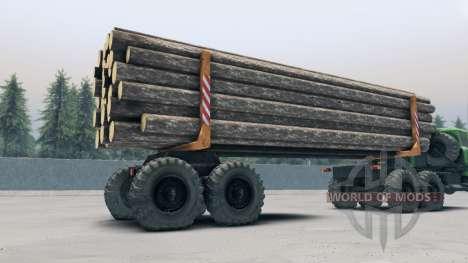 La remorque-dissolution TMZ UN pour Spin Tires