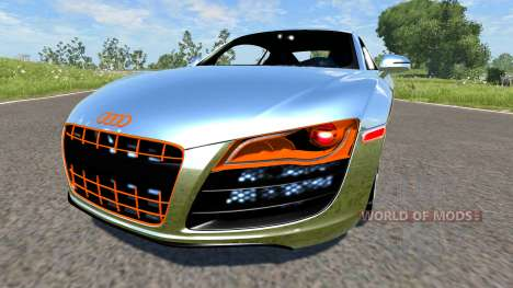 Audi R8 Chrome für BeamNG Drive