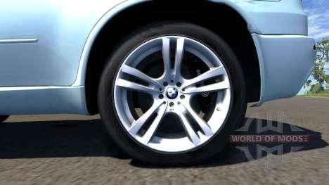 BMW X5M White pour BeamNG Drive